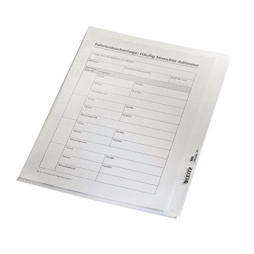 Esselte Leitz Sichthülle Premium, A5, PVC, dokumentenecht, glasklar (100 Stück)