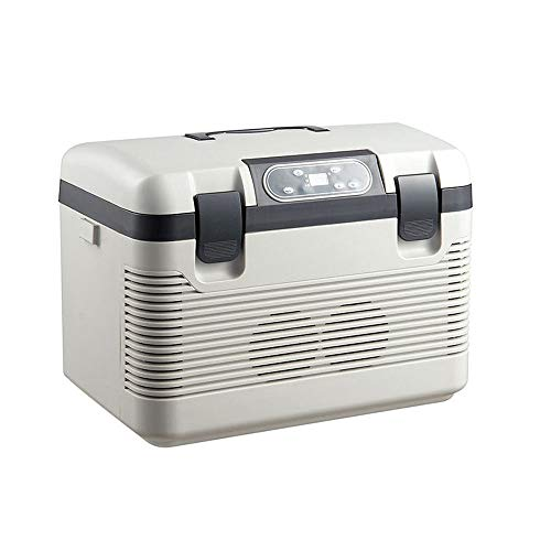 CONRAL 19L Auto kühlschrank, High-Tech Dual-Core, Outdoor Travel Tragbare Auto Cool und Warm Electric Cool Box Kleinen Kühlschrank 12 V / 220-240V Für Auto und Zuhause
