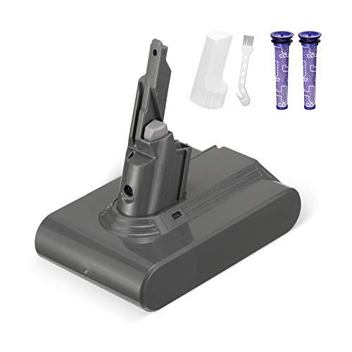 Powerextra 21.6V 4000mah Ersatzakku kompatibel mit V7 Animal V7 Trigger V7 Trigger+ V7 Motorhead Pro V7 Fluffy V7 Mattress V7 Staubsauger