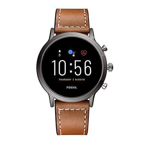 SPGUARD Kompatibel mit Huawei Watch 3 Armband/Huawei Watch 3 Pro Ersatzarmband, Leder Ersatzarmband mit Huawei Watch 3 Armband/Huawei Watch 3 Pro/Fossil Herren Gen 5 Carlyle/Fossil Damen Gen 5(Braun)