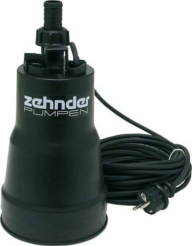 Schmutzwasserpumpe Tauchpumpe Zehnder FSP 330 flachsaugend Pumpe Schmutzwasser 5.500 l/h