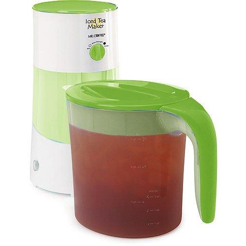 Sale!! Mr. Coffee TM70 3-Quart Iced Tea Maker w/ Steeping Control, Lime Green