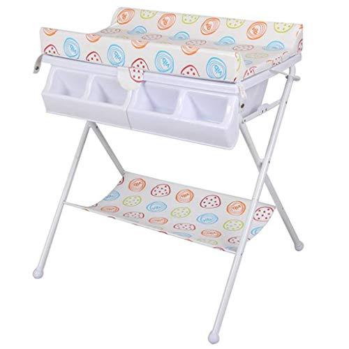 Ib-Style - Wickeltisch Und Badewanne | Faltbar | 3 Dekore | Baby-Aufbewahrungsbad | Tub Unit - Bonbonfarben