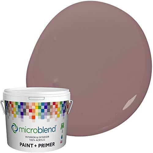 Microblend Exterior Paint and Primer - Lavender/Purple Pretender, Sample, Custom Made, Premium Quality, One Coat Hide, Low VOC, Washable, Microblend Violets Family