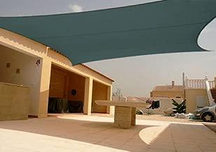 Square Sun Shade Sail Canopy Green 18'x18'