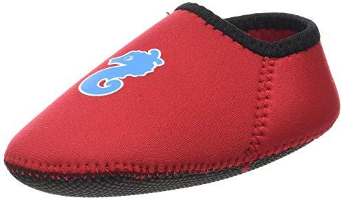 Imsevimse Chaussons de bain pour enfant rouge 18-24 Monate