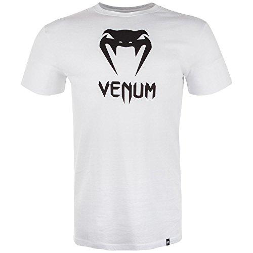 Venum Herren Classic T-Shirt, Weiß, M