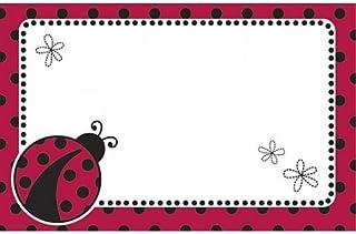 Lady Bug Enclosure Card 50 Pack