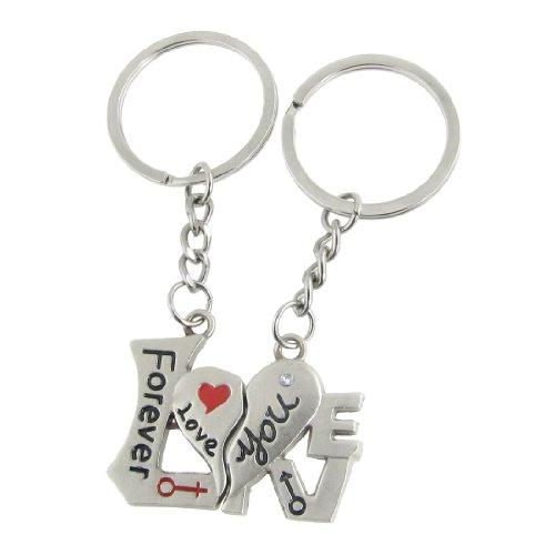 Sweet Lover Schlüsselanhänger für Paare, 2 Stück