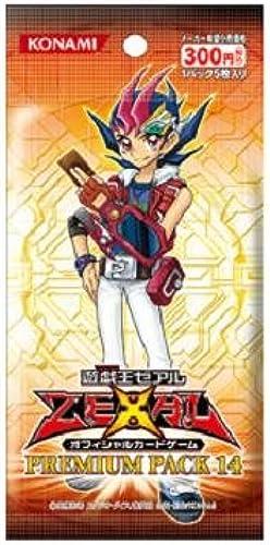 saludable Yu-Gi-Oh  Zexal Official Card Game Game Game Premium Pack Vol. 14 (10packs) (japan import)  venta mundialmente famosa en línea