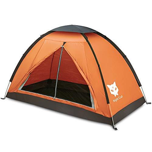 Tent Waterdicht Lichtgewicht 1 2 persoons persoon Eenvoudig op te zetten enkele tent om te wandelen kamperen