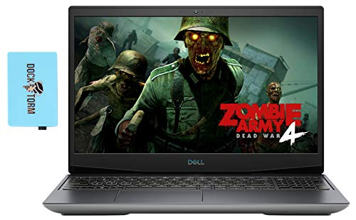 Dell G5 5505 Gaming and Business Laptop (AMD Ryzen 7 4800H 8-Core, 64GB RAM, 1TB PCIe SSD, AMD Radeon RX 5600M, 15.6' Full HD (1920x1080), WiFi, Bluetooth, Webcam, Win 10 Home) with Hub
