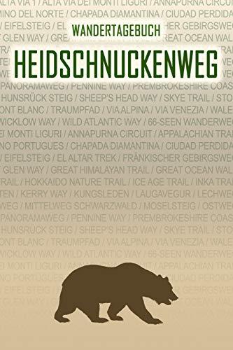 Heidschnuckenweg: Wandertagebuch: Heidschnuckenweg. Ein Logbuch mit vorgefertigten Seiten und viel Platz für deine Reiseerinnerungen. Eignet sich als Geschenk, Notizbuch oder als Abschiedsgeschenk