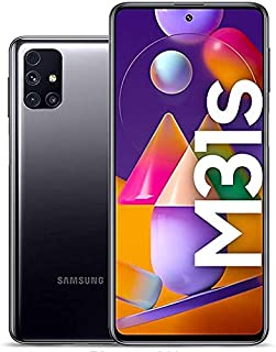 Samsung Galaxy M31s Dual SIM, 128GB 6GB RAM 4G LTE (UAE Version) - Black
