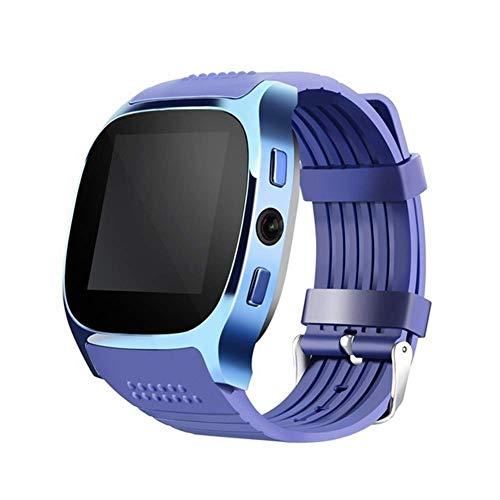 LEDGOO Smart Watch, One Size Touchscreen Smart Bluetooth Uhr NFC-Telefon für Android Samsung HTC SIM-Karte, Aluminium Smartwatches
