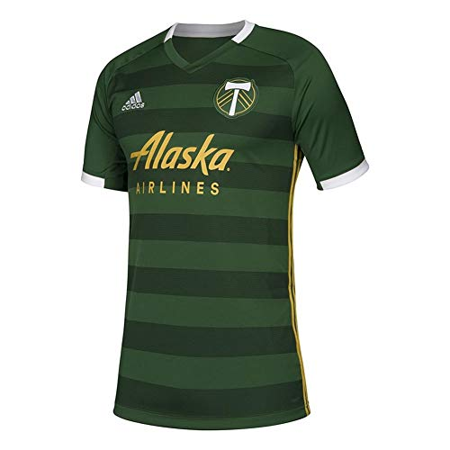 adidas Youth Portland Timbers Home Jersey 2019 Replica Kit (YTH (18-20))