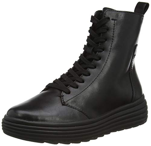 Geox Damen D PHAOLAE G Ankle Boot, Black, 41 EU