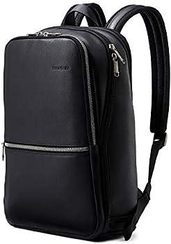 Samsonite Slim Leather Backpack + $10.00 Kohls Cash