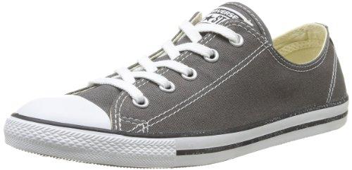 Converse Damen All Star Dainty Ox Sneaker, Grau (Anthracite), 36 EU
