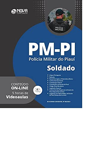 Apostila PM-PI em PDF 2021 - Soldado