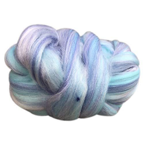 FeiliandaJJ 250g 14M Wolle Zum Stricken & Häkeln Handstrickgarn,Merino Lange Wolle Super Big Chunky Yarn Farbverlauf Super Weich Wolle Perfekt für Hüte Pullover Schal,11 Farben (I)