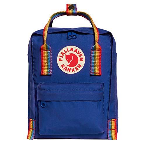 Fjällräven Kånken Rainbow Mini Rucksack, 29 cm, 7 L, Deep Blue-Rainbow Rnum