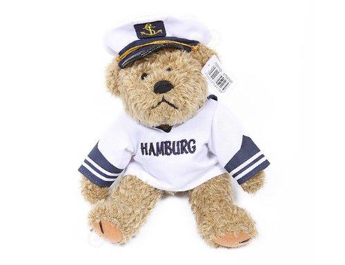 Hamburg-Teddy im Matrosenanzug - das süsse Hamburg-Souvenir