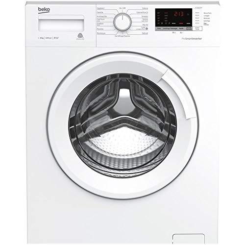 Beko WTX81232WI Libera installazione Carica frontale 8kg 1200Giri min A+++-10% Bianco lavatrice