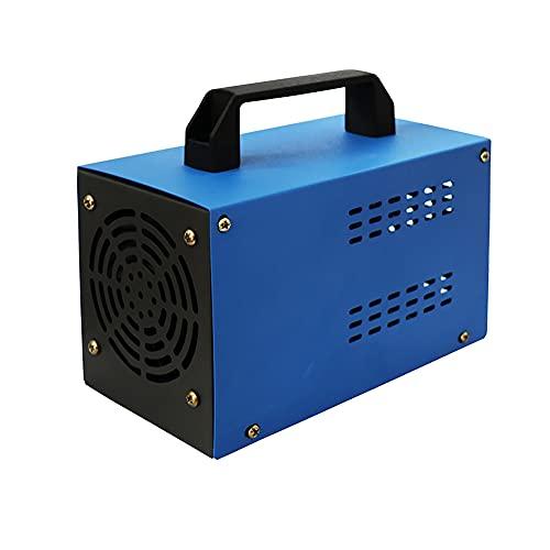 ATWFS 220 V 48.000 mg/H 60.000 mg/H Generador de Ozono , Purificador de Aire Industrial, para Garajes, Granjas, Hoteles y Mascotas, Eliminador de Olores (Sin Temporizador) (60G/H, Azul)