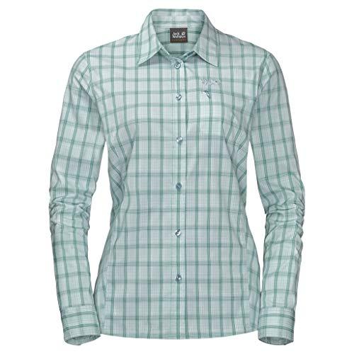 Jack Wolfskin Damen Centaura Flex Shirt W Hemd, Green Haze, XL