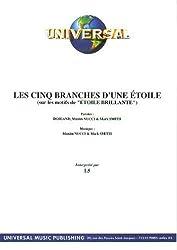 LES CINQ BRANCHES D\'UNE ETOILE