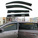 QCYP Auto Deflettori Vento Adatto per RAV-4 2006 2007 2008 2009 2010 2011 2012 2013 Deflet...
