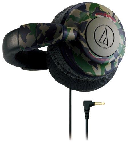 audio-technica 密閉型ヘッドホン バックバンド カモフラージュ ATH-BB500 CM