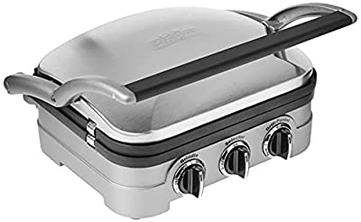 Cuisinart GR 4N indoor grill with removable plates