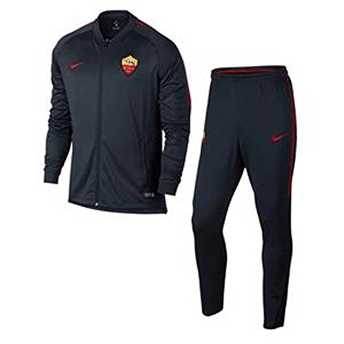 M NK DRY SQD TRK SUIT K DEEP ROYAL BLUE/TEAM CRIMSON 17/18 Roma Nike