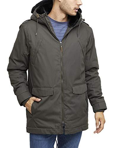 mazine Dunston Parka - Herren Streetwear - Winterjacke - Farbe: Black Olive - Grösse M