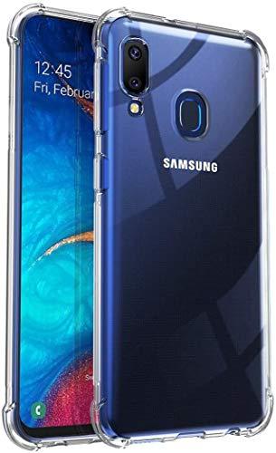 iMoshion kompatibel mit Samsung Galaxy A20e Hülle – Shockproof Hülle Handyhülle – Silikon Schutzhülle in Durchsichtig/Transparent [Verstärkte Ecken, Stoßfest, Dünn]