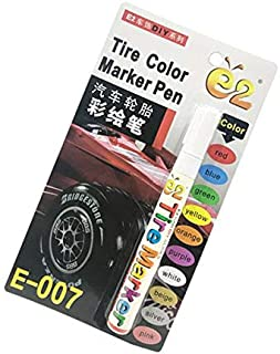 Tire Color Marker Pen e2-E007 - White