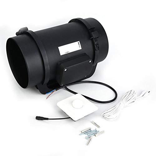 Inline-Kanal 760CFM Ventilator Ventilator mit einstellbarer Drehzahl Zubehör EC-Motor für öffentliche Plätze für hochwertige Bürogebäude für Hotels(220V)