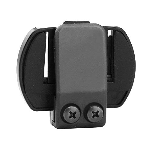 LEXIN LX-R6 - Interfono per moto Bluetooth, auricolare ricetrasmittente, raggio d'azione 1000 m, fino a 6 moto, manuale di istruzioni in spagnolo (lingua italiana non garantita) E: Mount Clip