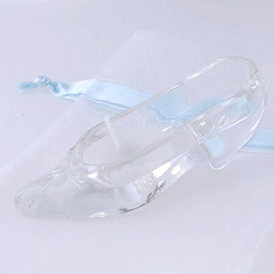 教室分離育成kameyama candle(カメヤマキャンドル) ガラスの靴 「ホワイト」(A9510050W)