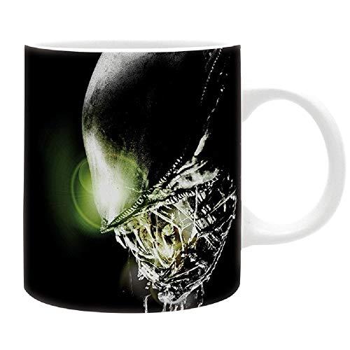 Aliens - Tasse - Xenomorph - Kaffeebecher - In Space - Logo - Mug - keramik - Geschenkbox