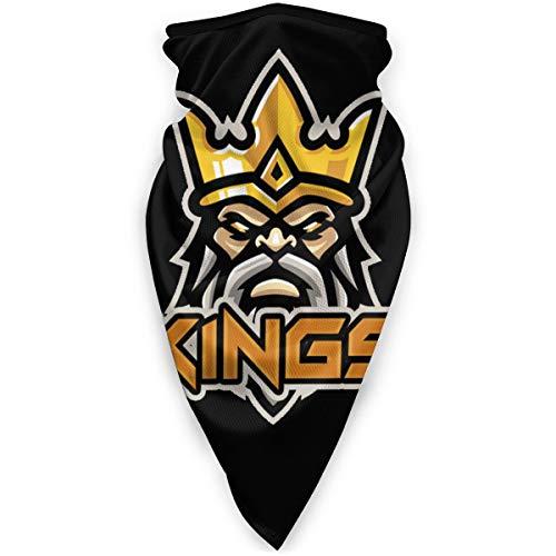 Kings Lords Mobile Clash of Kings Gesicht Bandana Magic Balaclava Schal, Gesichtsdekorationen, Superweicher Gesichtsschutz Black-one_Color-