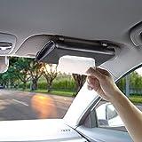 BANCHELLE Car Tissue Holder, Hanging Paper Towel Clip, PU Leather Tissue Box, Paper Carton, Paper Towel Box (Black)