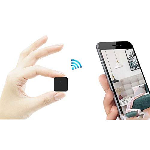 ZMM Familienkamera für Haustiere, Mini-HD-Remote-Infrarot-Nachtsichtgerät mit kleinem Monitor für den Innenbereich