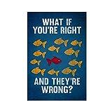 Robin Hood Merchandise Leinwand-Poster, Motiv: What If You
