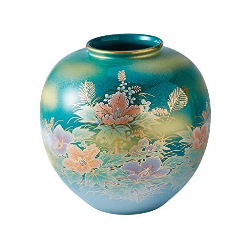 ZHJYDD HPZHPJJ Cerámica japonés jarrón jarrón Comedor Floral Sala de...