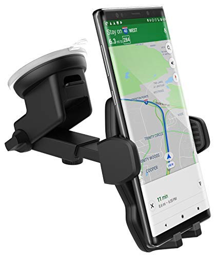 Encased Samsung Galaxy S8/S9/S10/A10e Plus Car Mount Holder - Windshield/Dashboard Compatible (Samsung S8+/S9+/S10)