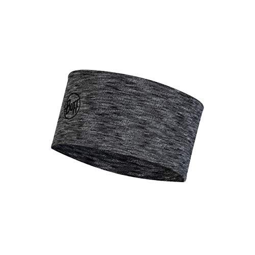 Buff - Fascia per capelli in lana merino Midweight, unisex, per adulti, colore: grafite, taglia unica