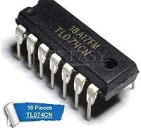 10 ピース TL074CN DIP14 TL074 DIP 074CN DIP 新とオリジナル IC